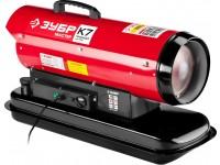 """Пушка ЗУБР """"МАСТЕР"""" дизельная тепловая, 220В, 20,0кВт, 350 м.куб/час, 18,5л, 1,9 кг/ч, регулятор температуры ДП-К7-20000"""