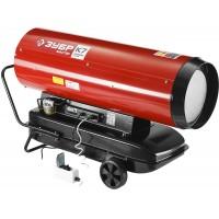 """Пушка ЗУБР """"МАСТЕР"""" дизельная тепловая, 220В, 65,0кВт, 1600 м.куб/час, 55,5л, 6,0кг/ч, дисплей, подкл. внешн термост, продувка, датчик уровня топлива ДП-К7-65000-Д"""