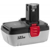 Батарея ЗУБР аккумуляторная для шуруповертов, 1,5 А/ч12.0 В ЗАКБ-12 N15