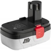 Батарея ЗУБР аккумуляторная для шуруповертов, 1,5 А/ч, 18.0 В ЗАКБ-18 N15