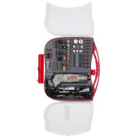 Гравер ЗУБР электрический с набором мини-насадок в кейсе, 219 предметов ЗГ-130ЭК H219