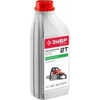 Масло ЗУБР, для 2-х тактных двигателей, минеральное, соотнош. бензин-масло 50:1, класс API TC, M/F 3, 1л ЗМД-2Т-М