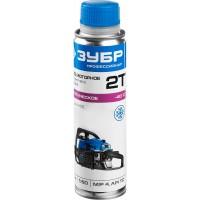 Масло ЗУБР, для 2-х тактных двигателей, синтетическое (-38С), соотнош. бензин-масло 50:1, класс API TC, M/F 4, 0.2л ЗМД-2Т-У
