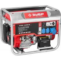 Генератор ЗУБР бензиновый, 4-х тактный, ручной и электрический пуск, автоматический пуск, 6200/5700Вт, 220/12В ЗЭСБ-6200-ЭА