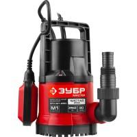 """Насос ЗУБР """"МАСТЕР"""" М1 погружной дренажный для чистой воды (диаметр частиц до 5 мм), 250Вт, пропускная способность 90 л/мин, напор 6,0 м НПЧ-М1-250"""