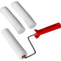 """Валик """"ПОРОЛОН"""" в наборе: 3 шубки + ручка, 180 мм, d=40 мм, MIRAX 0364-18_z01"""
