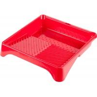 Ванночка ЗУБР малярная пластмассовая, для валиков до 270 мм, 360х360мм, 1,3л 06055-27