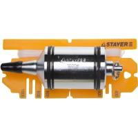 """Отвес STAYER """"PROFI"""" строительный со шнуром, с противоударными ободками, 1000 г 06352-100"""