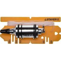 """Отвес STAYER """"PROFI"""" строительный со шнуром, с противоударными ободками, 400 г 06352-40"""