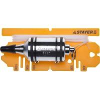 """Отвес STAYER """"PROFI"""" строительный со шнуром, с противоударными ободками, 500 г 06352-50"""