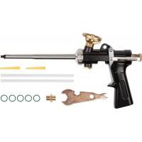 """Пистолет """"Super-Kraft"""" для монтажной пены, цельнометаллический, KRAFTOOL 6853"""
