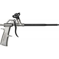 Пистолет ЗУБР для монтажной пены, тефлоновое покрытие, инновац регулятор, уплотнит кольца в корпусе и сопле 06878