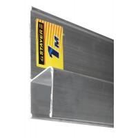 Правило для финишной отделки FINISH, 2.5 м, STAYER Professional 10745-2.5 10745-2.5