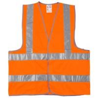 """Жилет сигнальный STAYER """"MASTER"""", оранжевый, размер XXL (52-54) 11621-52"""