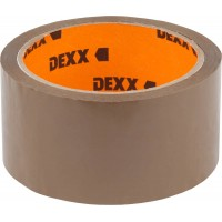 Клейкая лента, DEXX 12057-50-50, упаковочная, коричневая, 40мкм, 48мм х 50м 12057-50-50_z01