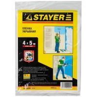 """Пленка STAYER """"STANDARD"""" защитная укрывочная, HDPE, 7 мкм, 4 х 5 м 1225-07-05"""