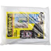 """Пленка STAYER """"PROFI"""" защитная укрывочная, LDPE, 30 мкм, 4 х 5 м 12253-04-05"""