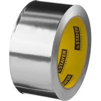 Алюминиевая лента, STAYER Professional 12268-50-25, до 120°С, 50мкм, 50мм х 25м 12268-50-25