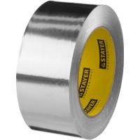 Алюминиевая лента, STAYER Professional 12268-50-50, до 120°С, 50мкм, 50мм х 50м 12268-50-50