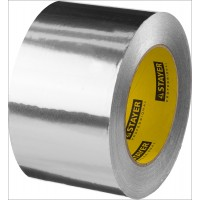 Алюминиевая лента, STAYER Professional 12268-75-50, до 120°С, 50мкм, 75мм х 50м 12268-75-50