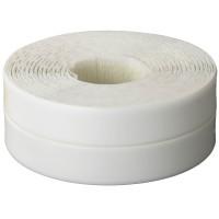 Лента бордюрная для ванн и раковин, STAYER Profi 12341-20-20, самоклеящаяся, профиль L, цвет белый, 20 х 20мм х 3,35м 12341-20-20