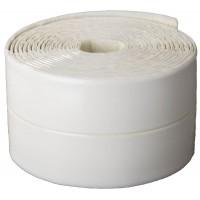 Лента бордюрная для ванн и раковин, STAYER Profi 12341-30-30, самоклеящаяся, профиль L, цвет белый, 30 х 30мм х 3,35м 12341-30-30