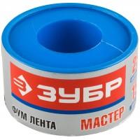 """Фумлента ЗУБР """"МАСТЕР"""", плотность 0,40 г/см3, 0,1ммх25ммх15м 12373-25-040"""