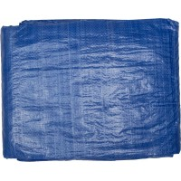 """Тент-полотно STAYER """"MASTER"""" универсальный, из тканого полимера плотностью 65 г/м3, с люверсами, водонепроницаемый, 3мх5м 12560-03-05"""