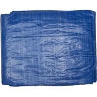 """Тент-полотно STAYER """"MASTER"""" универсальный, из тканого полимера плотностью 65 г/м3, с люверсами, водонепроницаемый, 4мх5м 12560-04-05"""