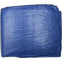 """Тент-полотно STAYER """"MASTER"""" универсальный, из тканого полимера плотностью 65 г/м3, с люверсами, водонепроницаемый, 8мх12м 12560-08-12"""