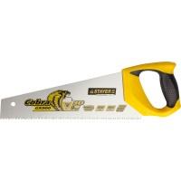 "Ножовка STAYER ""PROFI"" ""COBRA"" GX900, трехгранный японский зуб, импульсная закалка, 2-х комп ручка, 9 TPI, 350мм 1514-35_z02"