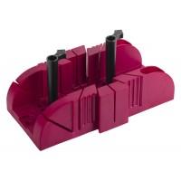 """Стусло ЗУБР """"ЭКСПЕРТ"""" пластиковое, с эксцентриковыми креплениями, ударопрочный ABS - пластик, для заготовок до 75х60мм 15375-75"""