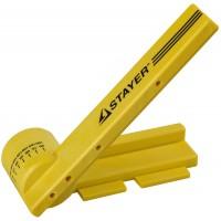 """Стусло STAYER """"PROFI"""" поворотное, с магнитной направляющей, ударопрочный ABS - пластик, неограниченный размер заготовки, угол реза от 15 до 180град 15402"""
