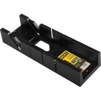"""Стусло STAYER """"STANDARD"""" пластмассовое, ударопрочный ABS - пластик, MIDI-PLUS, для заготовок до 65х35мм 1541-2,5"""