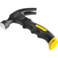 """Молоток-гвоздодер """"COMPACT"""" укороченный с фиберглассовой рукояткой, 225г, STAYER Professional 2026-225"""