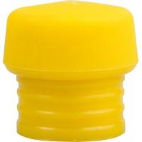 """Боек ЗУБР """"ЭКСПЕРТ"""" сменный, для сборочных молотков арт. 2044-30, желтый, средней твердости, для металлообработки,30мм 20443-30-3"""
