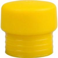 """Боек ЗУБР """"ЭКСПЕРТ"""" сменный, для сборочных молотков арт. 2044-40, желтый, средней твердости, для металлообработки,40мм 20443-40-3"""