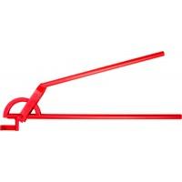 """Трубогиб ЗУБР """"ЭКСПЕРТ"""" для точной гибки труб из твердой и мягкой меди под углом до 90град, 22мм(радиус скругления 87мм) 23523-22"""