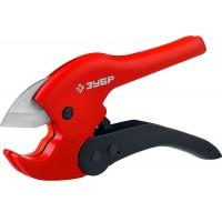 Ножницы автоматические для пластиковых труб, максимальный d=42 мм, ЗУБР Мастер 23702-42
