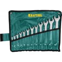Набор комбинированных гаечных ключей 12 шт, 6 - 24 мм, KRAFTOOL 27079-H12