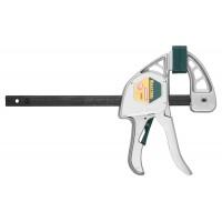 """Струбцина """"EcoKraft"""" ручная пистолетная, KRAFTOOL 32228-15, металлический корпус, 150/350мм, 200кгс 32228-15"""