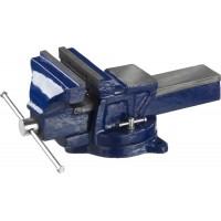 Тиски DEXX слесарные с поворотными механизмом, 150мм 32470-150