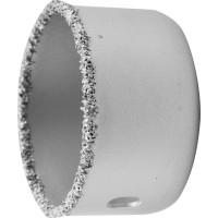 """Коронка-чашка ЗУБР """"ЭКСПЕРТ"""" с карбид-вольфрамовой крошкой, высота 25мм, 51мм 33361-051"""