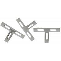 Крестики ЗУБР Т-образные для кафеля, 2мм, 200шт 33813-2