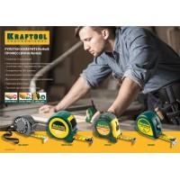 """Рулетка KRAFTOOL """"EXPERT"""" с нейлоновым покрытием, обрезин корпус, 3/13мм 34122-03_z01"""