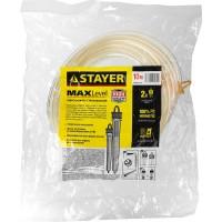 """Гидроуровень STAYER """"MASTER"""" с усиленной измерительной колбой большого размера, d 6мм, 10м 579437"""