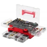 Набор мини-насадок ЗУБР для гравировальных машин, 349 предметов 35905-H349