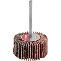 """Круг шлифовальный ЗУБР """"МАСТЕР"""" веерный лепестковый, на шпильке, тип КЛО, зерно-электрокорунд нормальный, P60, 15х30мм 36600-060"""