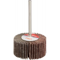 """Круг шлифовальный ЗУБР """"МАСТЕР"""" веерный лепестковый, на шпильке, тип КЛО, зерно-электрокорунд нормальный, P120, 15х30мм 36600-120"""