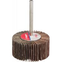 """Круг шлифовальный ЗУБР """"МАСТЕР"""" веерный лепестковый, на шпильке, тип КЛО, зерно-электрокорунд нормальный, P180, 15х30мм 36600-180"""